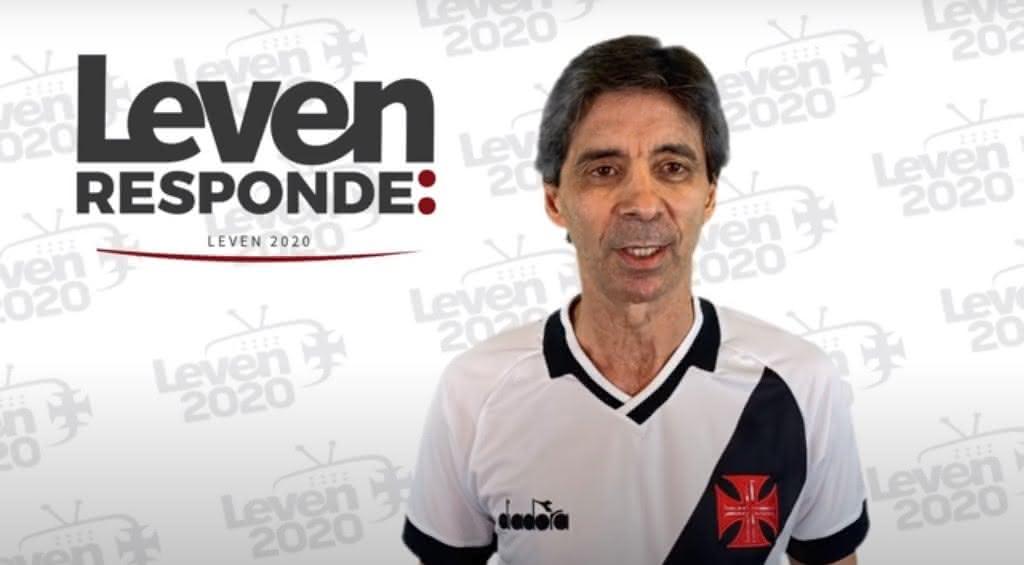 Mauro Galvão em participação no quadro ''Leven Responde''