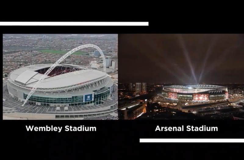 Populous foi responsável pela modernização dos estádios do Arsenal e Wembley