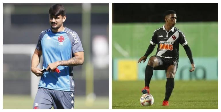 Ricardo Graça e Juninho são oriundos das categorias de base do Vasco