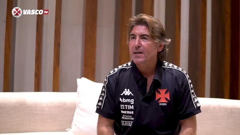 Ricardo Sá Pinto concede entrevista à Vasco TV