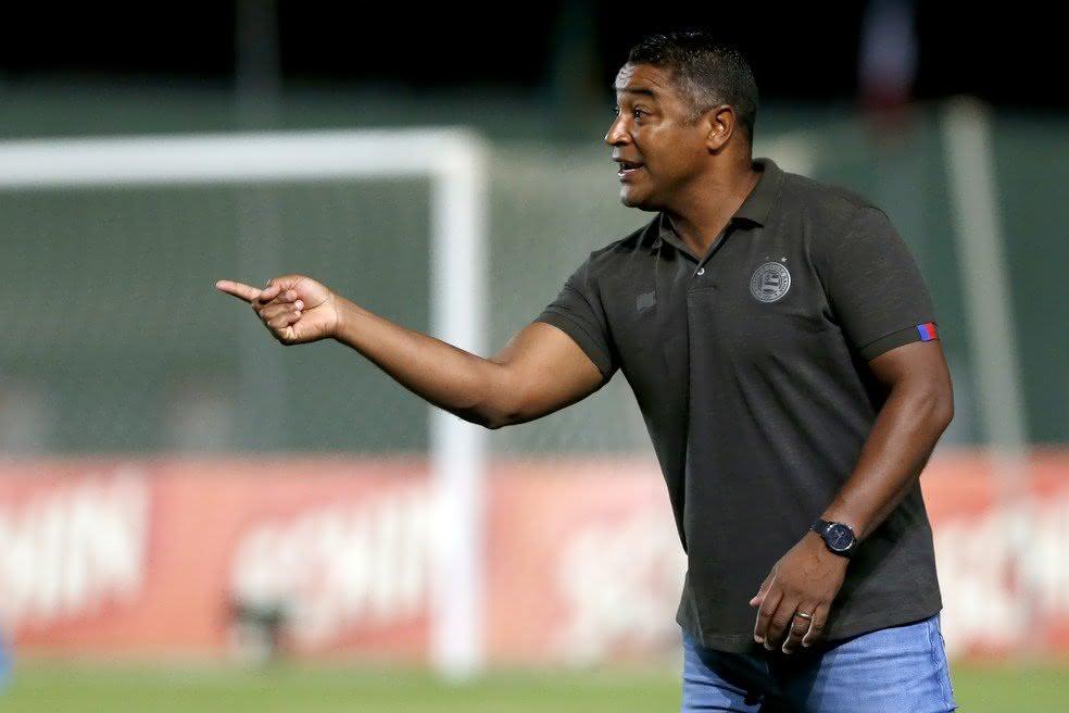 Roger Machado comandou o Bahia em 2020