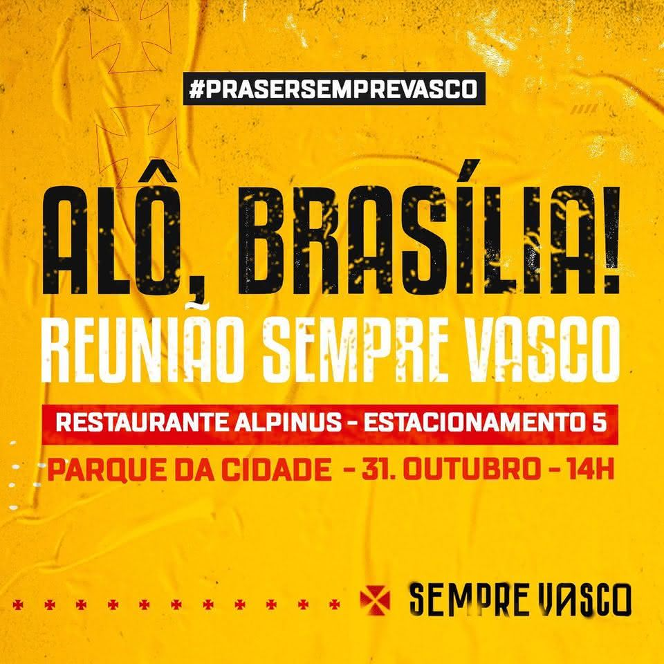 Julio Brant se reunirá com vascaínos de Brasília
