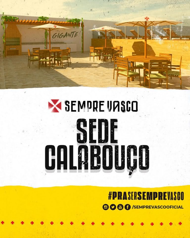 Sempre Vasco pretende modernizar a Sede do Calabouço