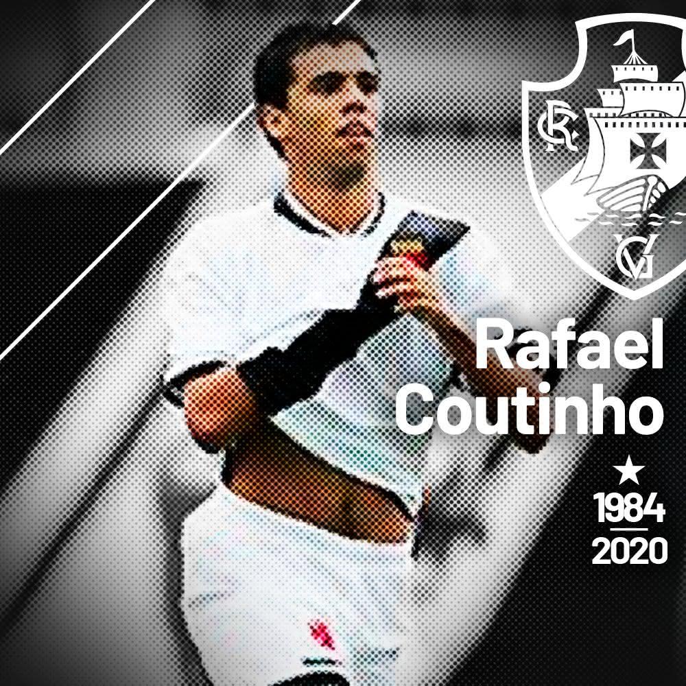 Vasco lamenta morte de Rafael Coutinho
