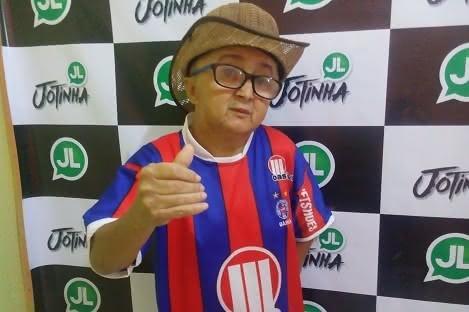 Torcedor-símbolo do Bahia, Jotinha faleceu nesta quinta-feira (06)