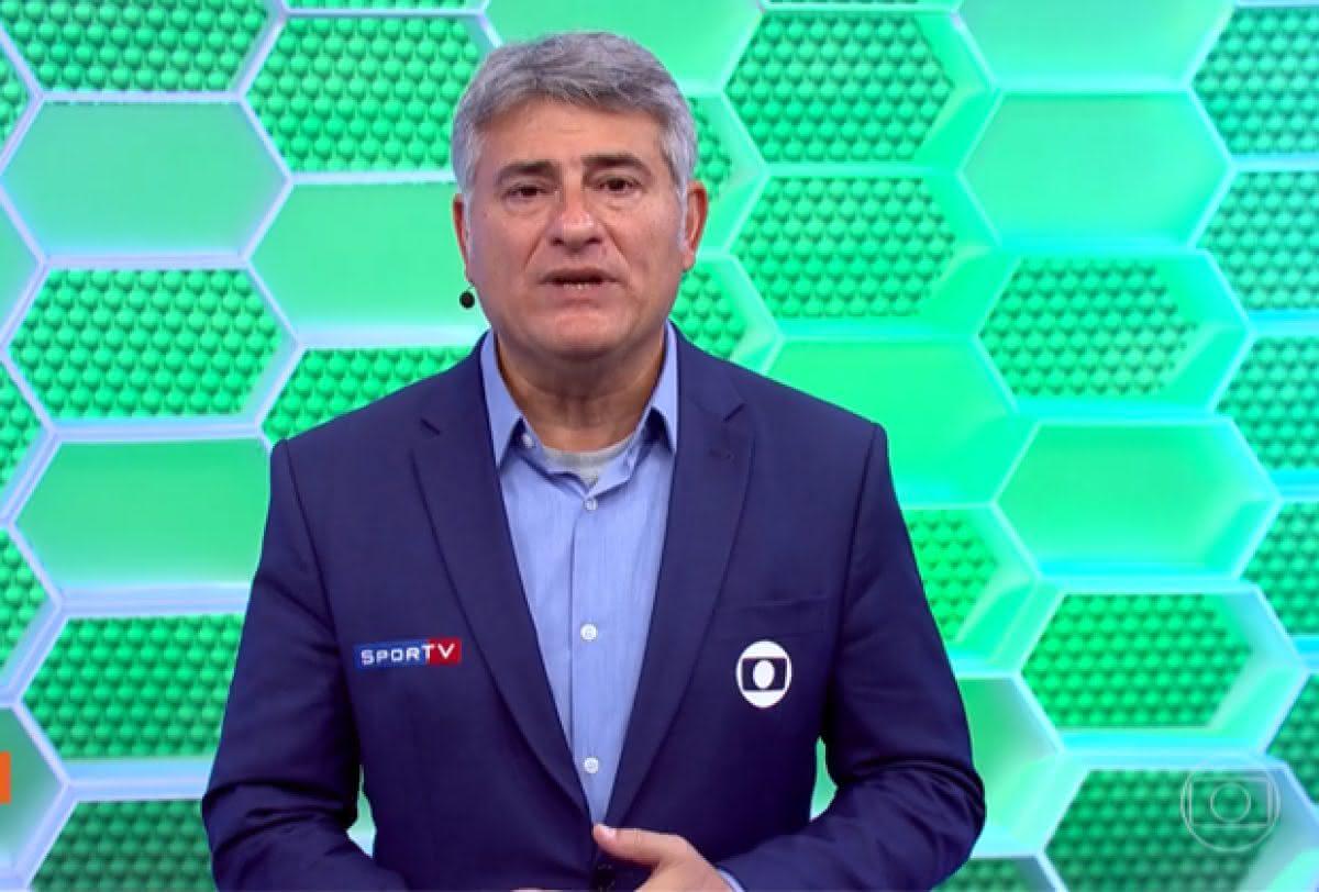 Cléber Machado, narrador da TV Globo