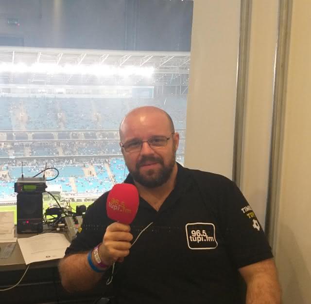 André Marques no tempos de Rádio Tupi