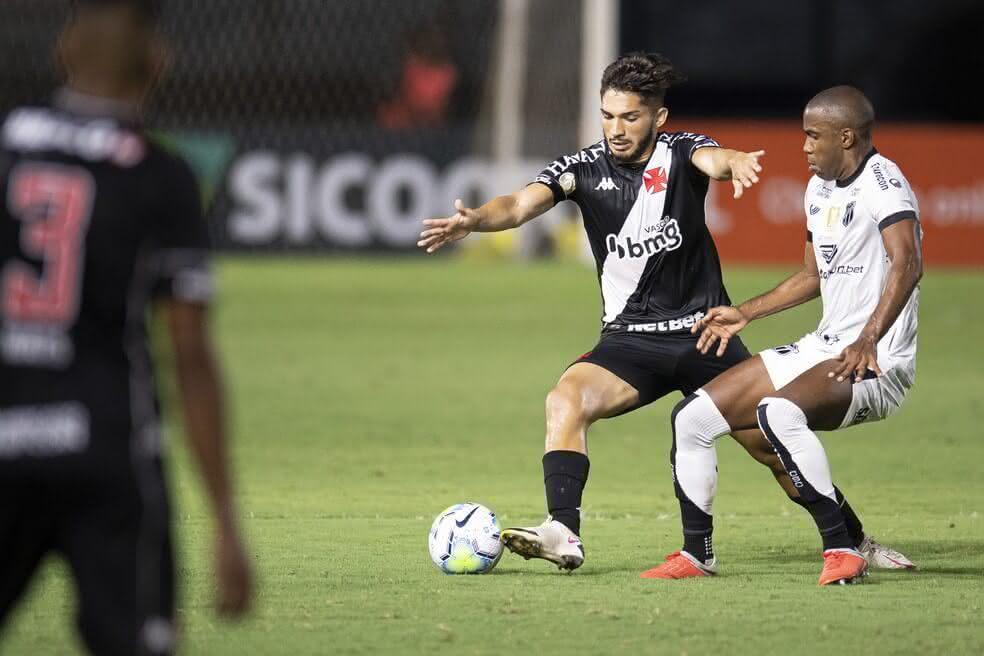 Andrey durante o jogo contra o Ceará