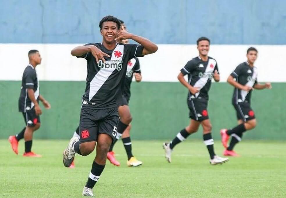 Andrey Santos, do Sub-17 do Vasco