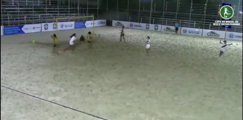 Sampaio Corrêa 2 x 3 Vasco pela Copa do Brasil de beach soccer feminino