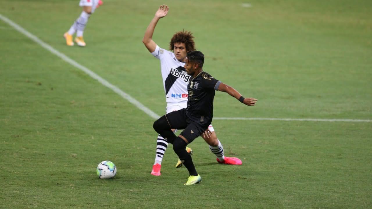 No primeiro turno, o Vasco venceu o Ceará por 3x0 no Castelão