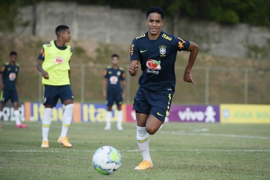 Erick, atacante do Sub-17 do Vasco