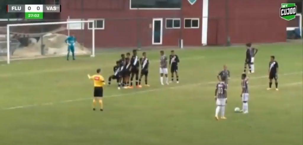 Fluminense 2 x 1 Vasco pelo Brasileiro Sub-17