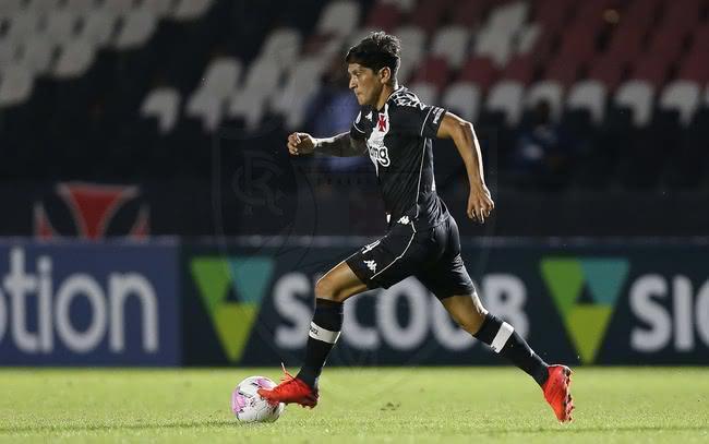 Germán Cano em ação pelo Vasco