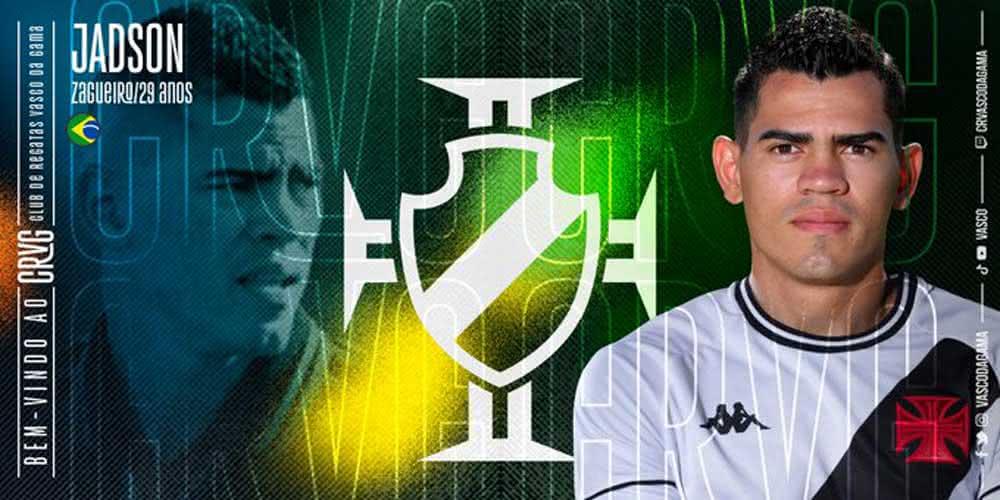 Vasco anuncia a contratação de Jadson