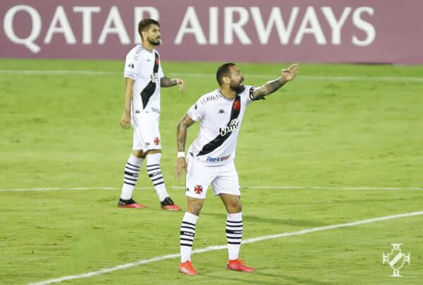 Leandro Castan durante o jogo contra o Caracas