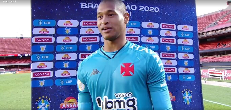 Lucão em entrevista pós São Paulo 1 x 1 Vasco