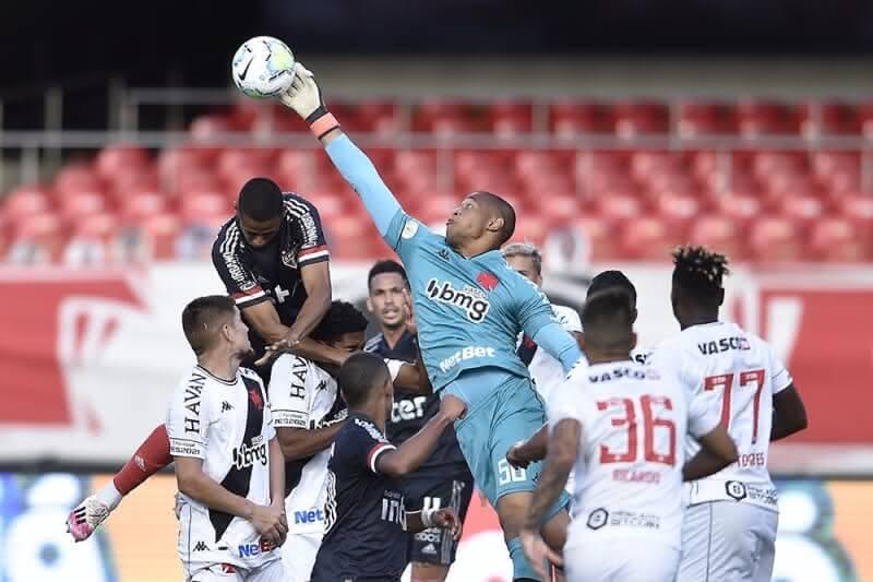 Lucão em ação em São Paulo 1 x 1 Vasco