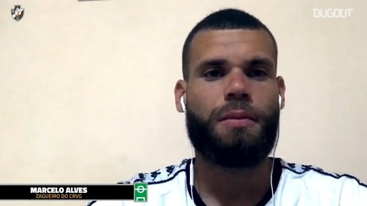 Marcelo Alves em entrevista à Vasco TV