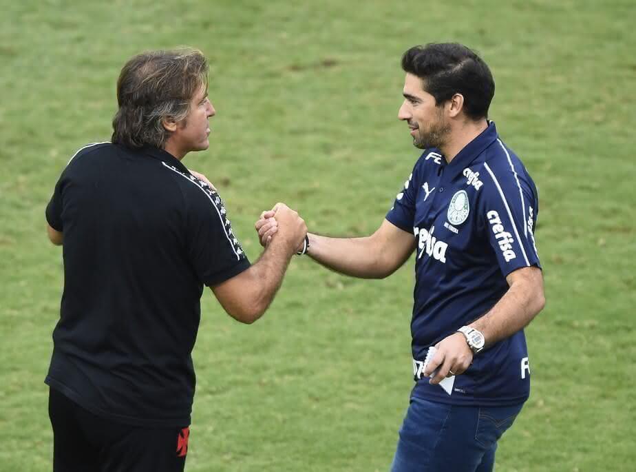 Ricardo Sá Pinto e Abel Ferreira
