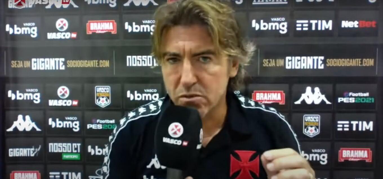 Ricardo Sá Pinto em entrevista após São Paulo 1 x 1 Vasco