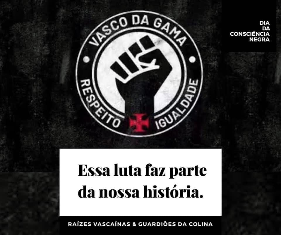 Grupos destacam luta do Vasco contra o racismo