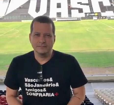 Vitor Roma, vice-presidente de Marketing do Vasco