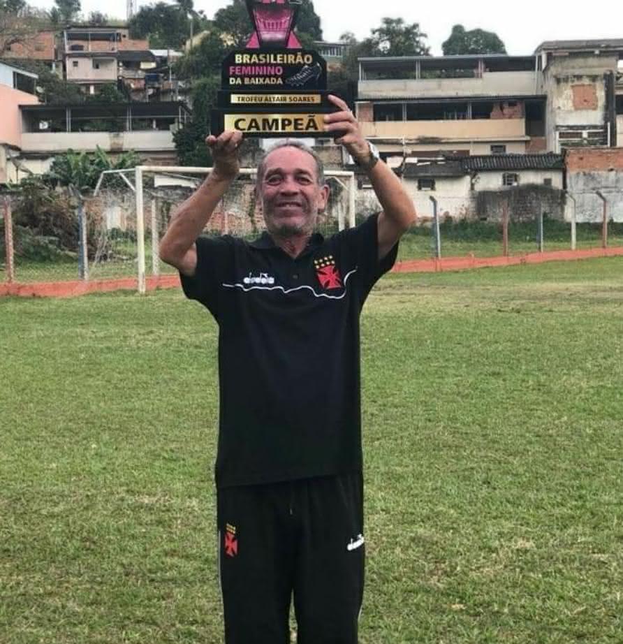 Sidnei Freire de Castro, funcionário do clube por 25 anos, que faleceu nesta semana