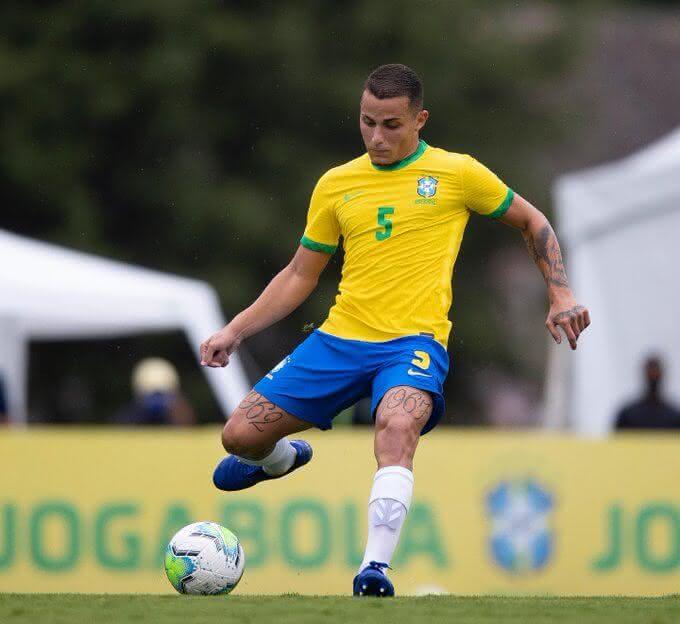 Bruno Gomes, jogador do Vasco (Foto: reprodução/Twitter)
