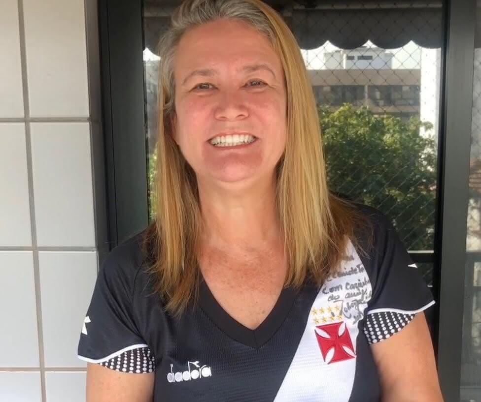 Claudete Joaquim, nova conselheira do Vasco