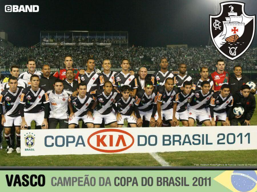 Título da Copa do Brasil conquistada pelo Vasco 2011