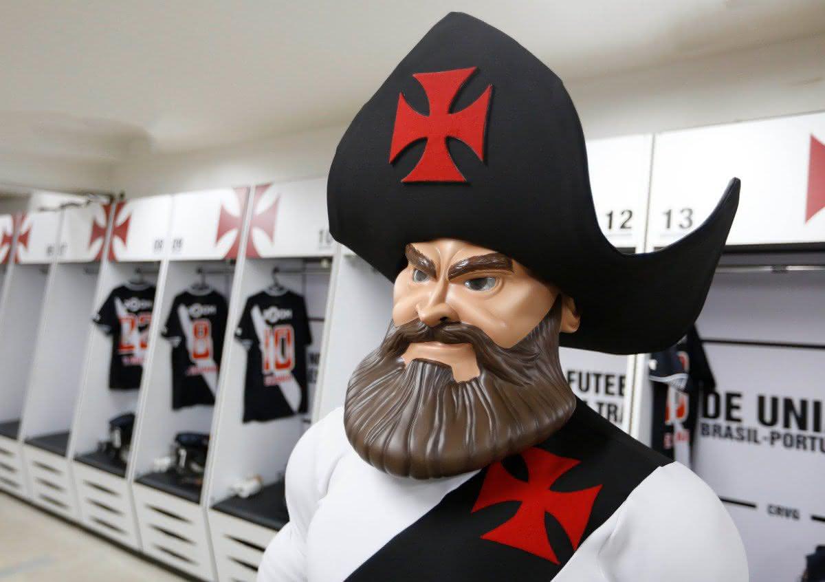 Mascote do Vasco da Gama, o Almirante