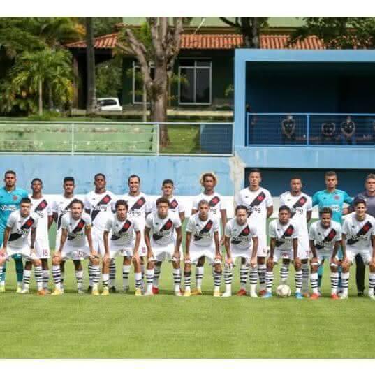 Elenco do Vasco, campeão carioca Sub-20