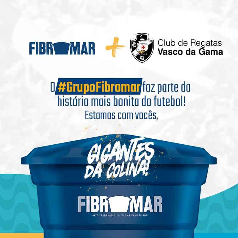 Parceria Vasco e Grupo Fibromar