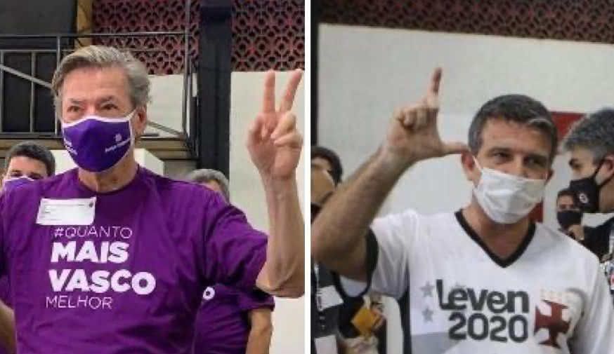Respectivamente, Jorge Salgado e Leven Siano