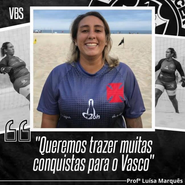 Luísa, do Beach Soccer Feminino do Vasco da Gama