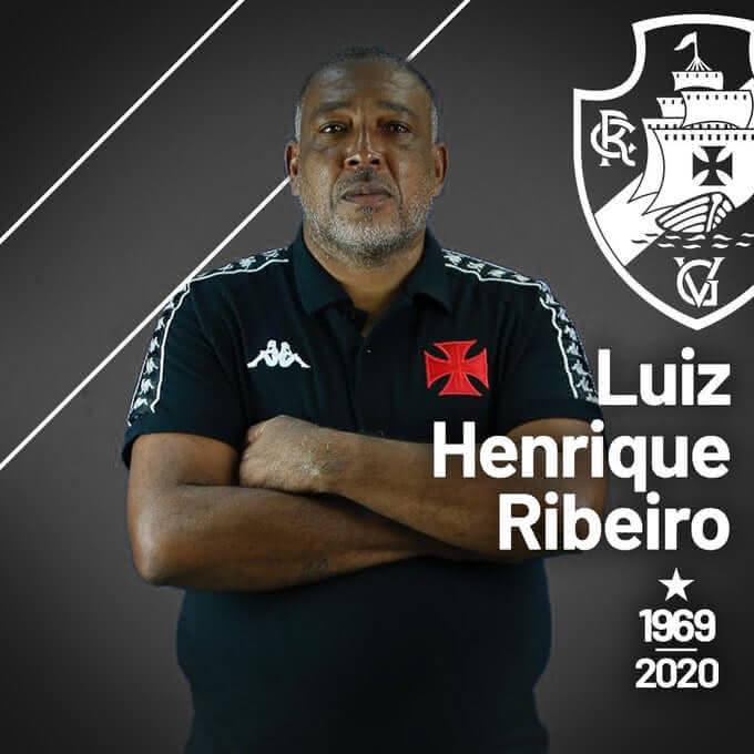 Luiz Henrique, roupeiro do Sub-20 do Vasco