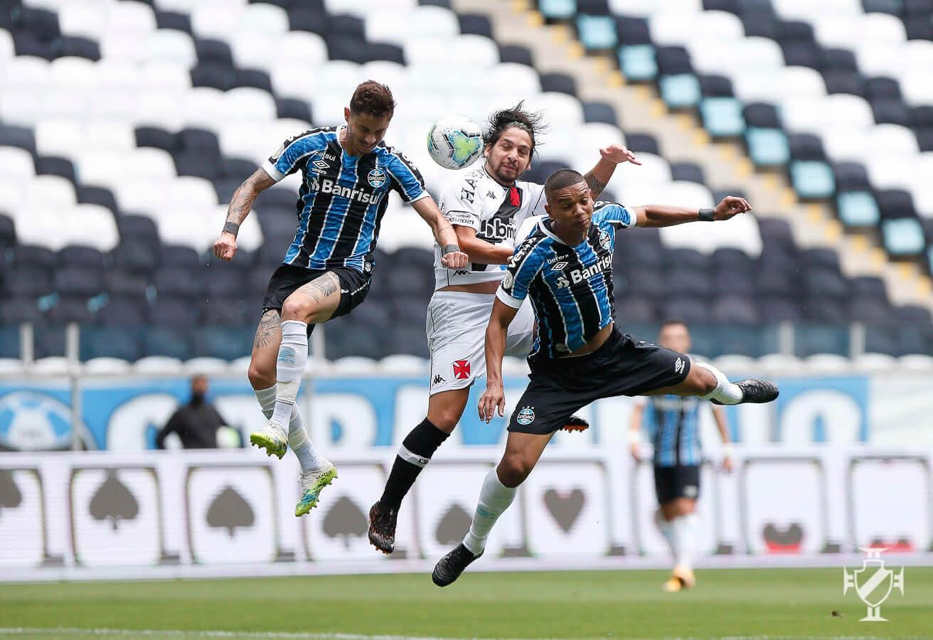 Martín Benítez durante o jogo contra o Grêmio