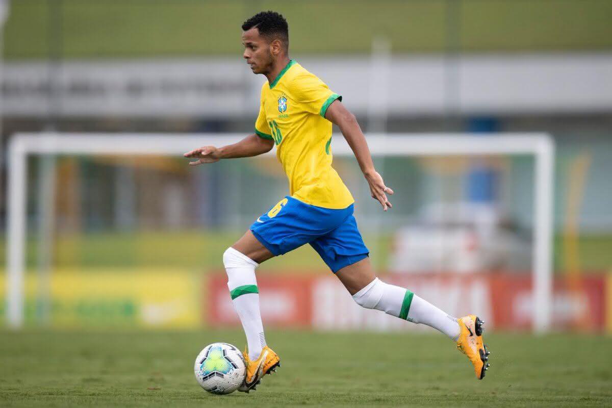 Riquelme em jogo da Seleção contra a Bolívia