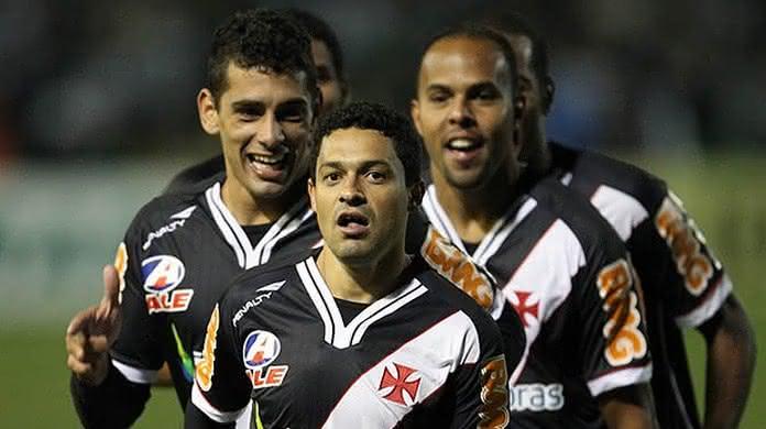 Jogadores do 'Trem Bala da Colina' do Vasco em 2011