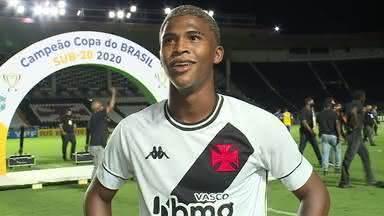 Caio Eduardo, meio campista do Vasco da Gama Sub-20