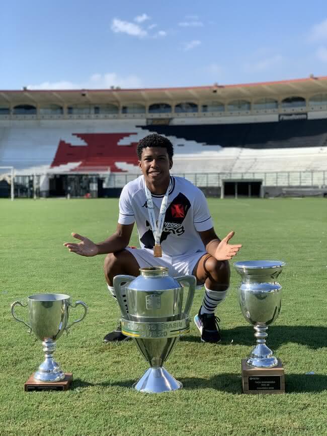 Andrey Santos, do Sub-20 do Vasco da Gama