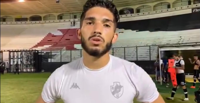 Andrey em entrevista após Vasco 3 x 0 Botafogo pelo Brasileirão