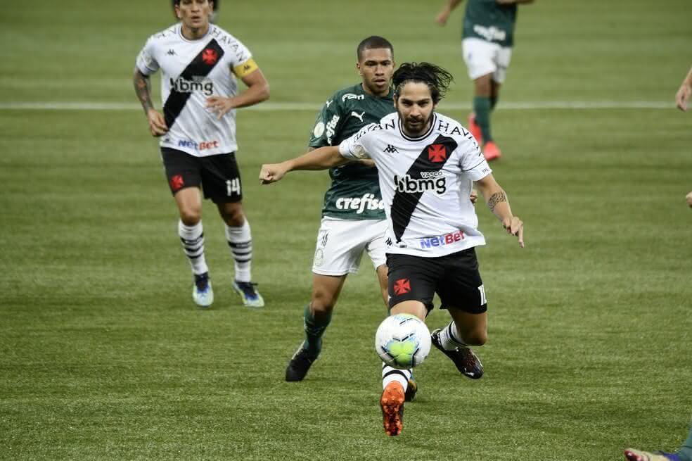 Benítez marcou o gol do empate do Vasco contra o Palmeiras