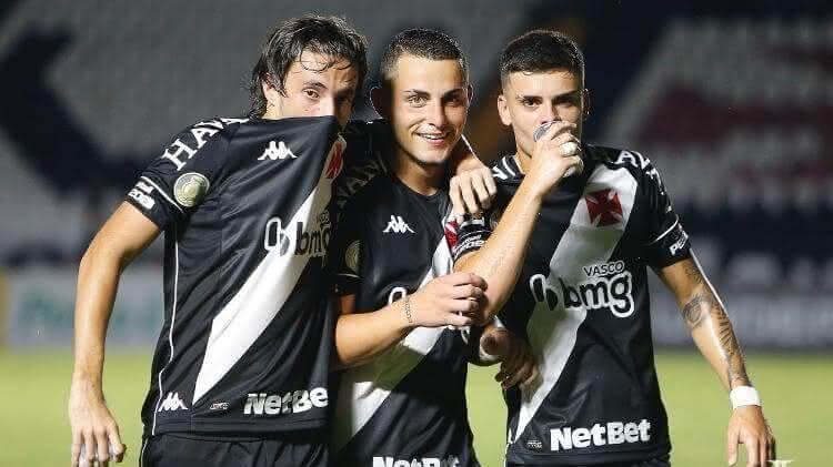 Caio Lopes, Bruno Gomes e Gabriel Pec