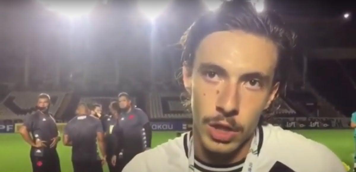 Caio Lopes após o título da Copa do Brasil Sub-20