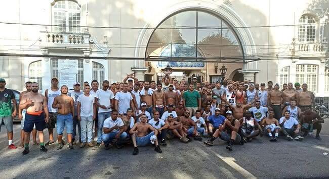 Força Jovem e Mancha Verde na final da Libertadores 2020