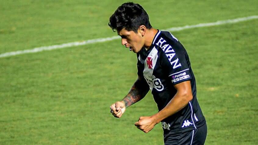 Cano durante o jogo contra o Atlético-MG