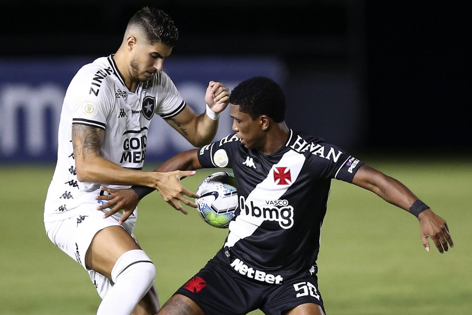 Juninho durante o jogo contra o Botafogo