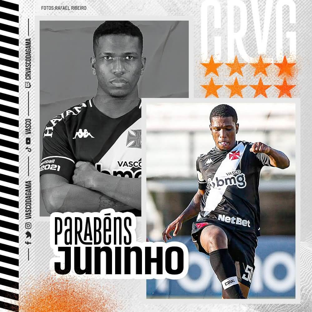 Juninho, aniversariante do dia